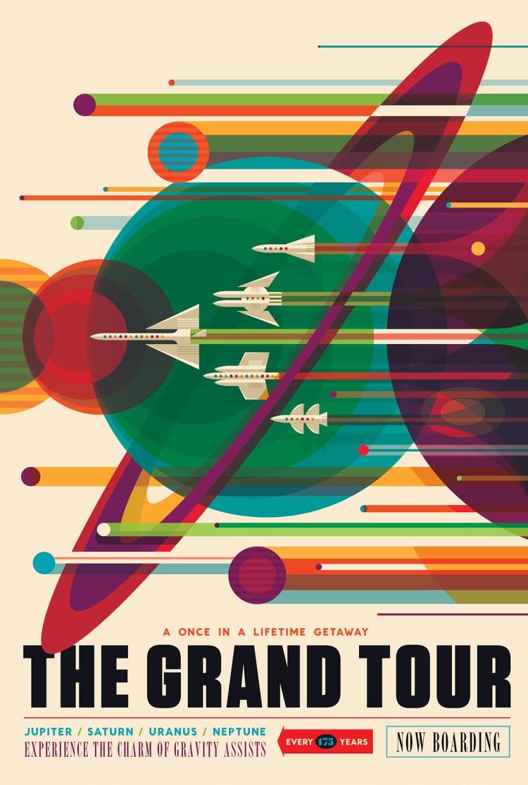 NASA Space Tourism Poster