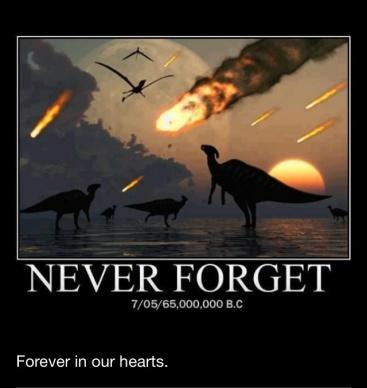 RIP Dinosaurs